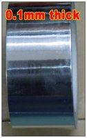 1x 2cm 20mm 40 Meters 0 1mm Thickness Aluminum Foil Papper Tape High Temperature Withstand EMI