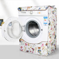 Durable Washing Machine Cover Washing Machine Dryer Covers Waterproof Case Home Sunscreen Laundry Dryer Dust Covers