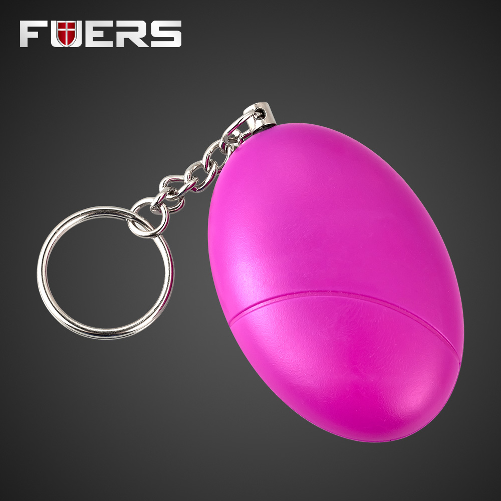 New Safety Personal SOS Personal Anti-Attack Protection Male Egg Shape Keychain Anti-Security Alarm System Survival Equipment high quality mini personal portable guard safety security egg alarm keychain 3 colors hot sale waterproof