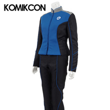 The Orville Commander Uniform Cosplay Starfleet Costume Blue Command Division Duty Outfit Halloween Christmas Costumes for Women