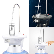 New Water Pump Six Kinds Patterns Barrels / Desk Tray Wireless Rechargeable Electric Dispenser Water Pump for Barrelled Water
