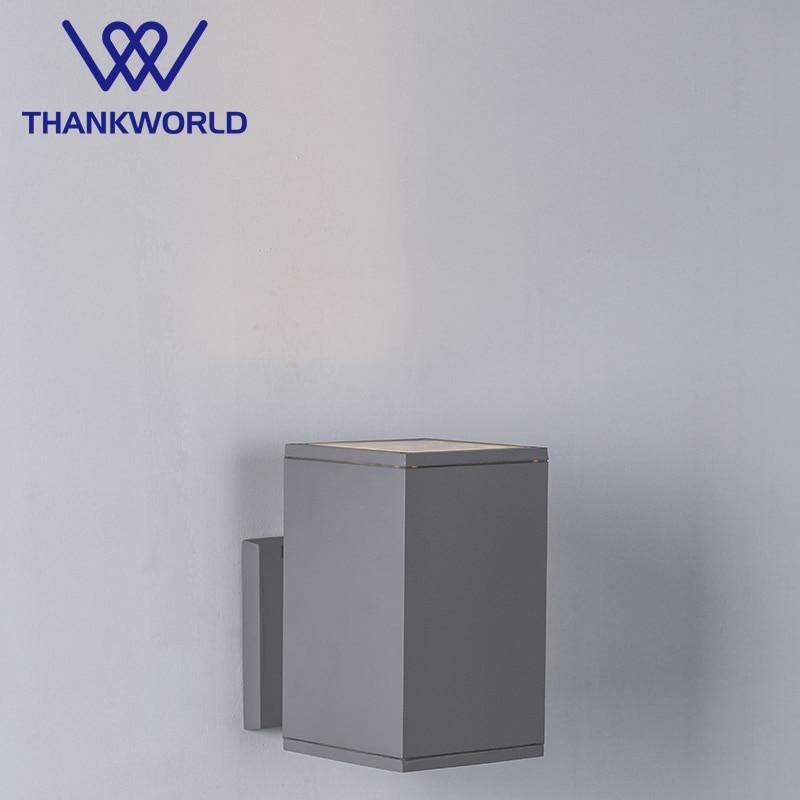 VW Luminaire Udendørs belysning 12W ledet lys Udvendige væglamper ledet udendørs moderne væglampe ip65 lampe havelysbelysning