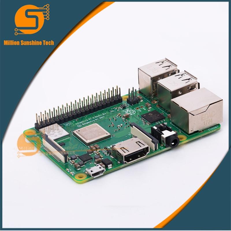 New Raspberry Pi 3 Model B+/Raspberry pi module B+ full upgrade add PoE 250m extend poe kit for 4x raspberry pi b b 2 3 micro usb 5v 2 4a switch 4 poe