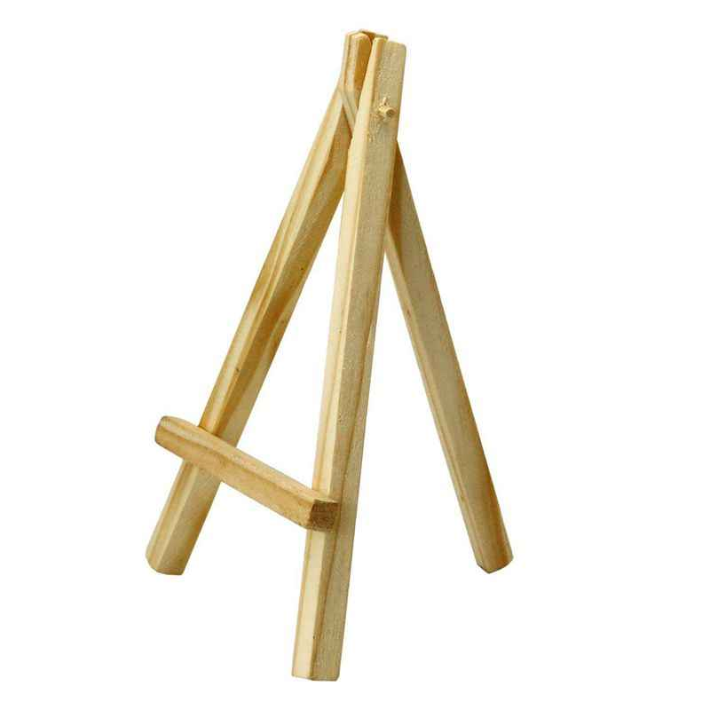 Мини 6 дюймовые высокие деревянные мольберты художественные проекты фото имя меню держатель столик бронь Праздничный Рождественский держатель