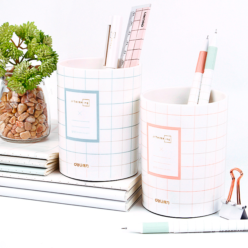 Deli Round Romantic Lace Pen Holder Desk Organizer Office Accessories Desk Accessories Office Organizer Pencil Holder KawaiiDeli Round Romantic Lace Pen Holder Desk Organizer Office Accessories Desk Accessories Office Organizer Pencil Holder Kawaii
