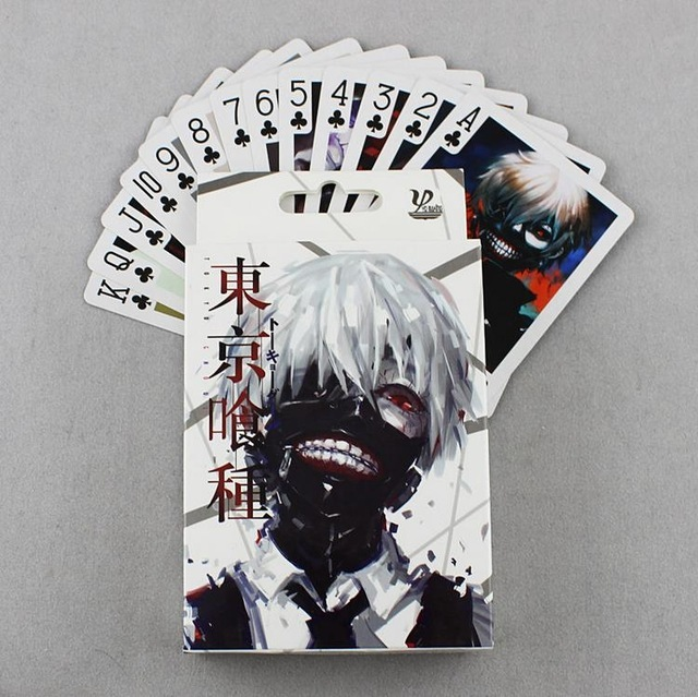 54 Pcs Pack Tokyo Ghoul Poker Game Cards