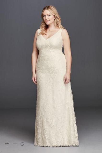 Aliexpress Buy 2016 Plus Size Sheath Wedding Dresses All Over