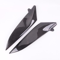 Wotefusi Carbon Fiber Tank Side Covers Panels Fairing For Yamaha YZF R1 2004 2006 2005 [PA202]