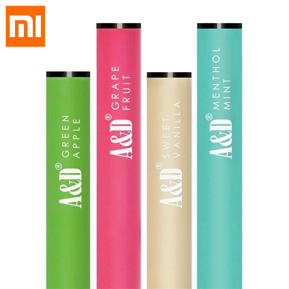 D'origine 4 pcs Xiaomi Mija A & D Sain Ventouse Frais Souffle Non-nicotine Saveur De Fruits Collagène Vitamine Pour xiaomi mijia Maison Intelligente