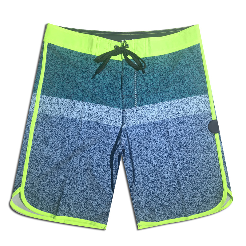 2019 Summer New Mens Quick Dry Beach   Shorts   Brand Phantom Board   Shorts   Elastic Surfing Fitness Gym Waterproof   Shorts   Boardshorts