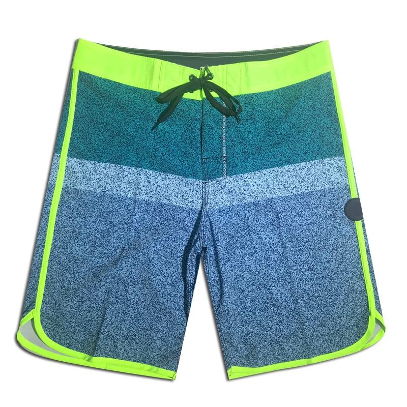 2019 Summer New Mens Quick Dry Beach   Shorts   Brand Phantom   Board     Shorts   Elastic Surfing Fitness Gym Waterproof   Shorts   Boardshorts