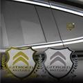 Excellent New Car Metal Badge Case For Citroen C4 C5 C3 grand picasso Car Styling Car Emblem Sticker Accessories