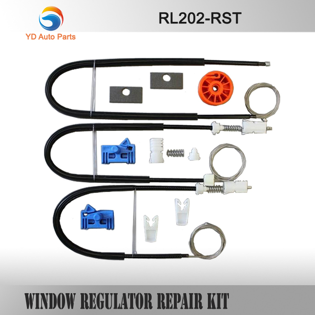 YD REGULADOR DA JANELA CLIPE CONJUNTO COMPLETO KIT de REPARO do REGULADOR DA JANELA RENAULT VEL SATIS FRONT-RIGHT