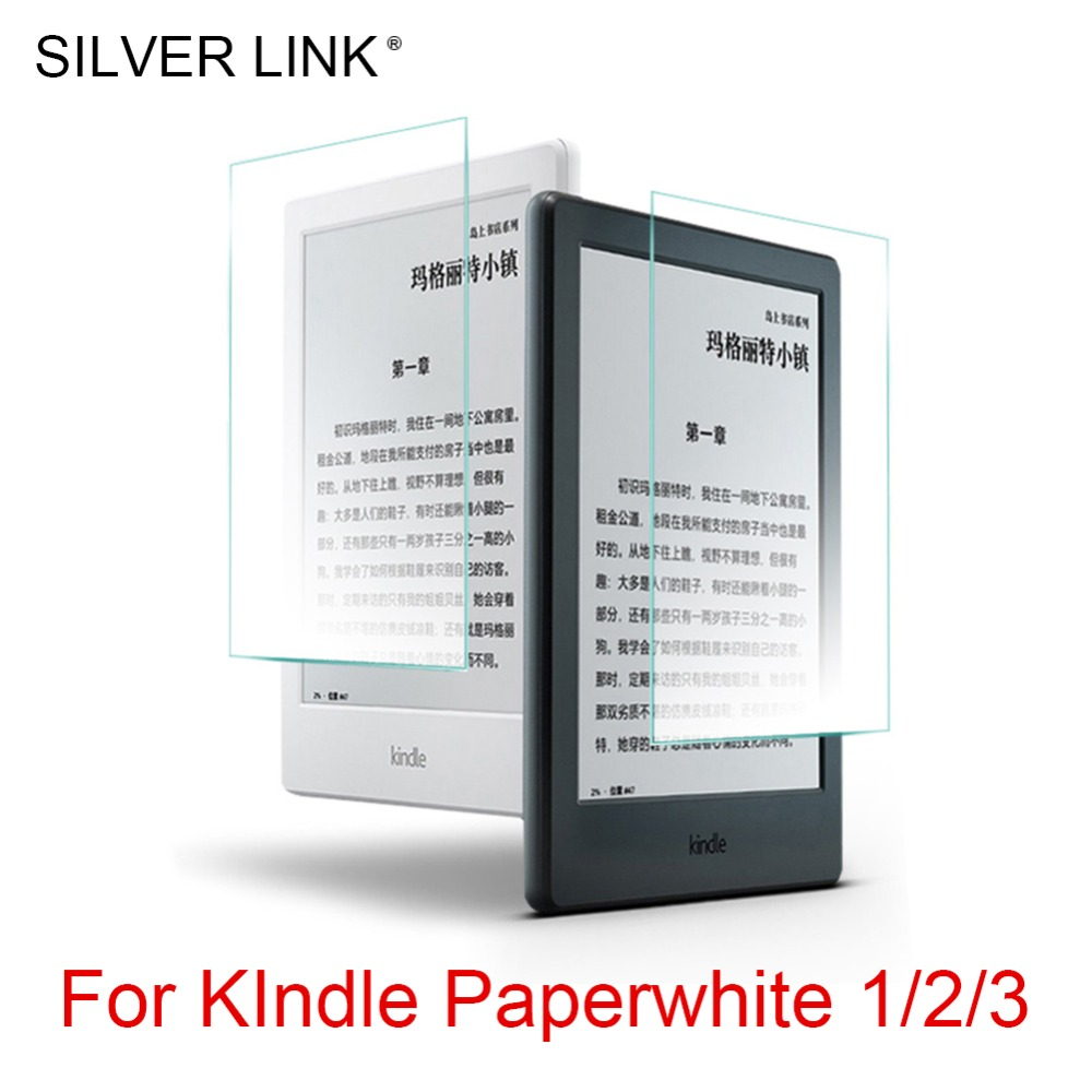 SILVER LINK 1X PET Kindle Screen Film For Kindle Paperwhite 1/2/3 Ultra Clear/Matte Film Screen Protectors Full Cover nillkin protective matte pet screen guard film for nokia lumia 1520 transparent