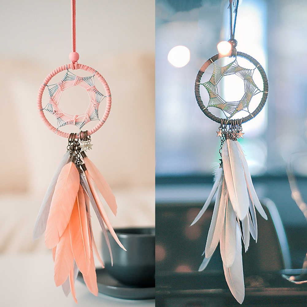 Nordic dream catcher room decoration car dreamcatchers  wedding gifts for guests bedroom farmhouse decor  party wedding decor