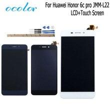 Ocolor עבור Huawei Honor 6c פרו JMM L22 LCD תצוגת מסך מגע 5.2 Digitizer עצרת החלפה + כלים + דבק אין מסגרת