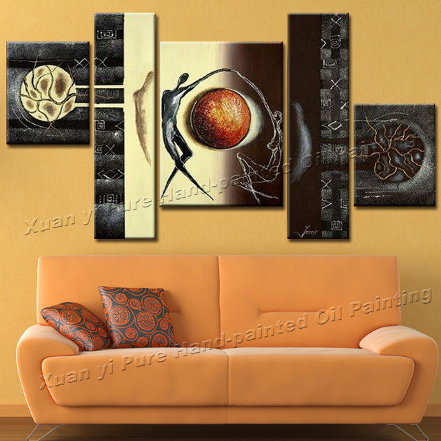 hand painted canvas modern abstract painting art oil painting living
