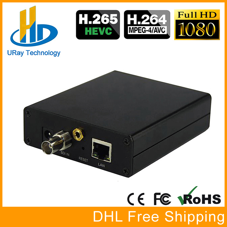 URay RTSP RTMP UDP Encoder H265 H264 SD HD 3G SDI To IP Encoder H.265 H.264 Encoding For IPTV Solutionn And Video Live Streaming uray 4 channels hevc h265 hd sdi 3g sdi iptv encoder streaming sdi to ip encoder server udp multicast sdi encoder hardware h264