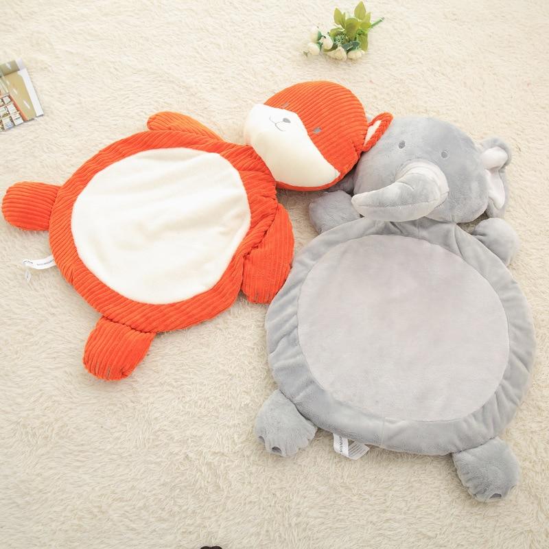 Cute Elephant Fox Shape Baby Pillow Kids Plush Toys Baby Sleep Pillow Cushion Baby Room Decor Nursing Pillows almofada infantil  mattress