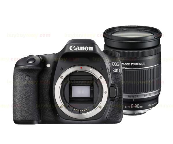 Nouveau Canon EOS 80D caméra corps & EF-S 18-200mm f/3.5-5.6 est Kit d'objectif