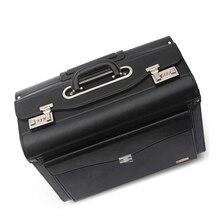 """Carrylove 1"""" дюймовый пилот черный багаж для путешествий, чемодан, сумка на колесиках"""