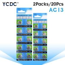 YCDC 1.55V LR44 A76 AG13 SR1154 For Watch Calculator pile montre relogio celular  horloge batterijen batterie bottone