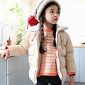 Kids winter coat girls thick cotton padded girls Princess down Jacket Outdoors Parkas fashion outwear Clothing For Baby