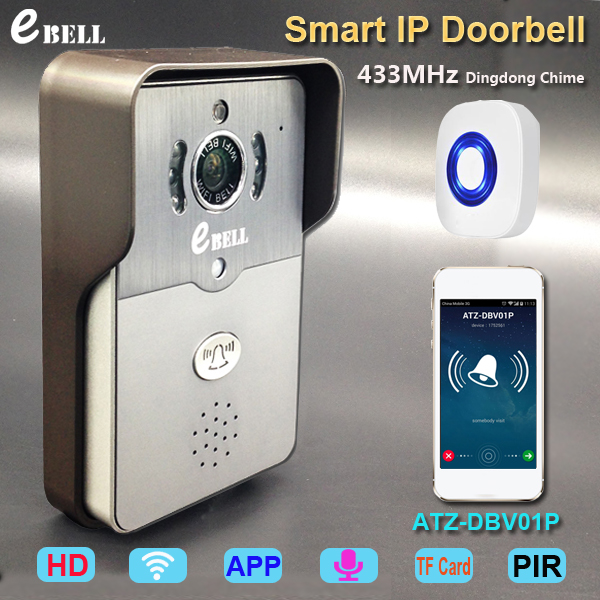 HD 720P wifi intercom Video Door Phone 3G 4G Doorbell font b Camera b font PIR
