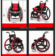 2019 Adult high quality handicapped leisure big wheels all terrain lightweight folding sport manual wheelchair for disabled