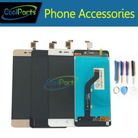 Gold Color High Quality For ZTE Blade X3 D2 T620 A452 LCD Display And Touch Screen