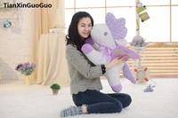 Large 65cm Lovely Cartoon Unicorn Plush Toy Soft Doll Throw Pillow Birthday Gift S0166