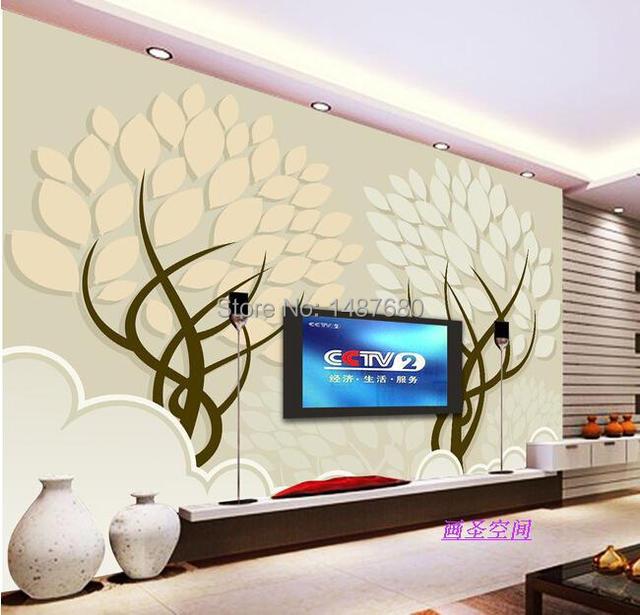 Beibehang 3D Romantic Flower Trees Photo Wallpaper Mural Modern Papel De  Parede 3d Floral Murals Wall Part 89