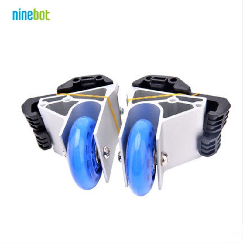 Original Ninebot auto équilibrage scooter monocycle accessoires Assistant roues d'entraînement ensemble pour ninebot one A1/S2