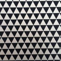 合成pvc黒と白正規角プリント革素