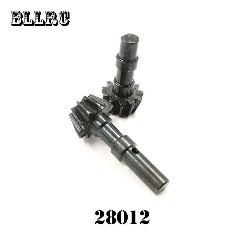 2 unids 1/16 HSP 28012 86032 carro impulsado engranaje 11 t de metal para RC coche 94185, 94186, 94687