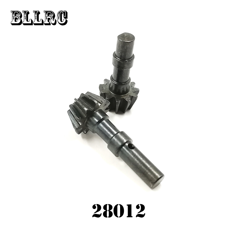 2pcs 1/16 HSP 28012 86032 Trolley Driven Gear 11T Metal Suitable For RC Car 94185 94186 94687