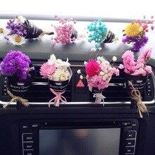 DIY flores de Seda Flor Artificial Estame Scrapbooking Buquê Buquê de Flores para Casamento Carro Decoração Artesanato Suprimentos