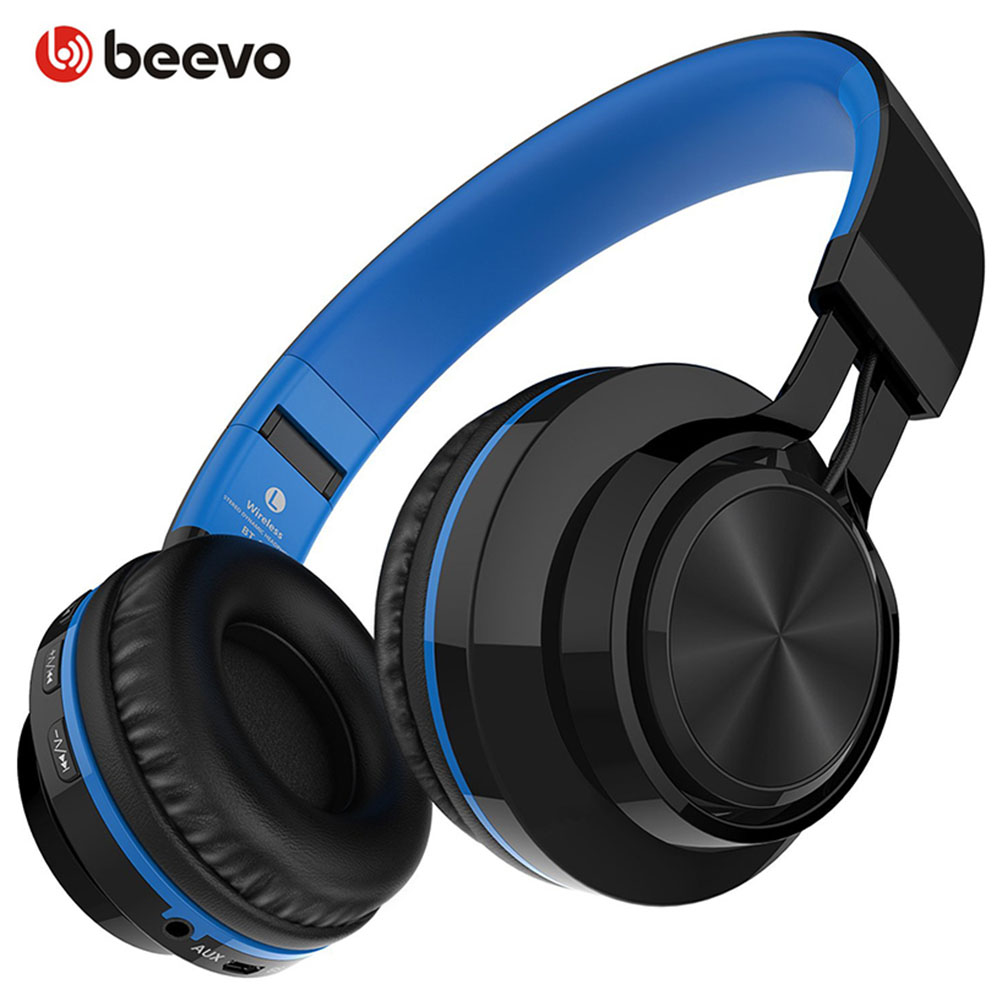 BT-06 Foldable Wireless Bluetooth Headphones Splicing Color Stereo Headsets Support TF Card/Handsfree Call With Mic Earphones high quality zealot b5 bluetooth wireless headphones foldable tf card over ear hd headphone headsets with mic