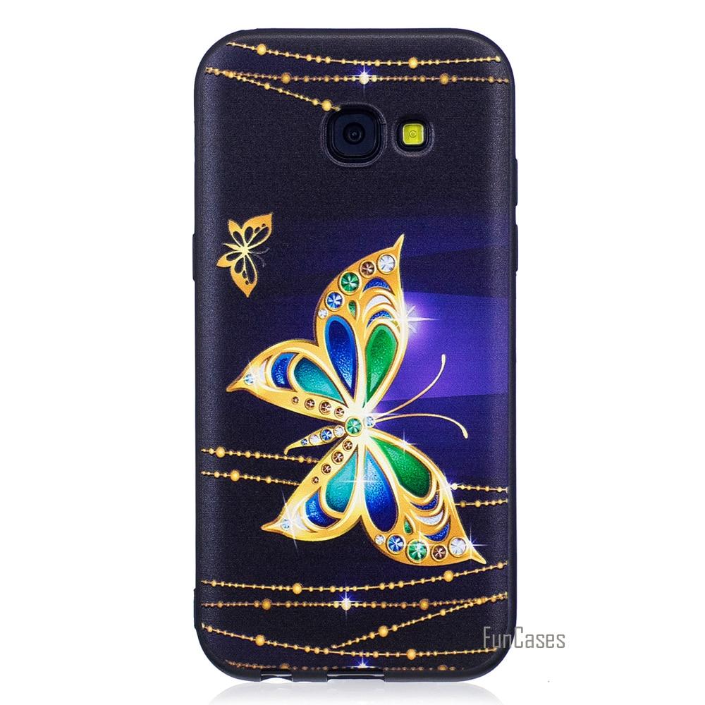 Top Quality HD Relief Soft TPU Phone Case For Samsung Galaxy S7 Edge J7 2017 J3 J5 A5 A3 2016 eagle owl For Samsung S8 Plus Etui