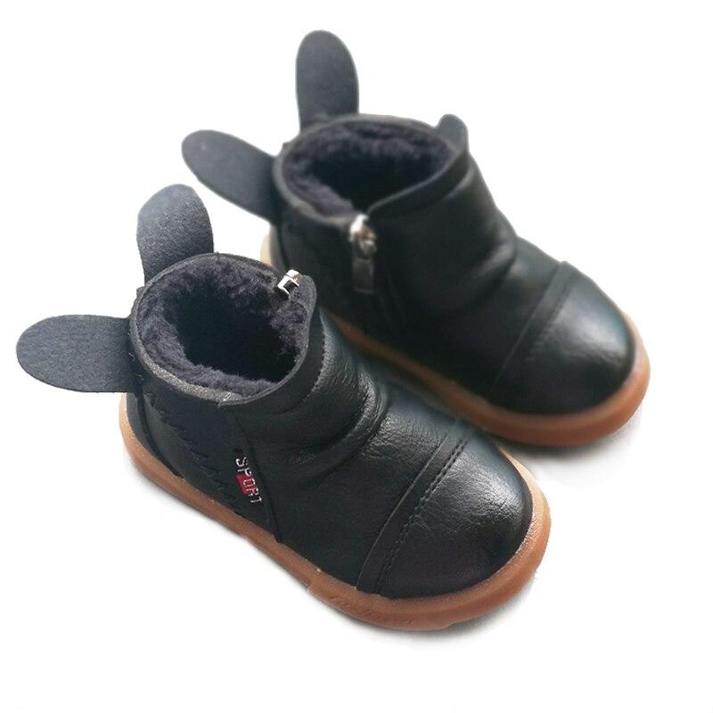 Aliexpress.com : Buy Kids Baby Shoes Winter Plush Velvet ...