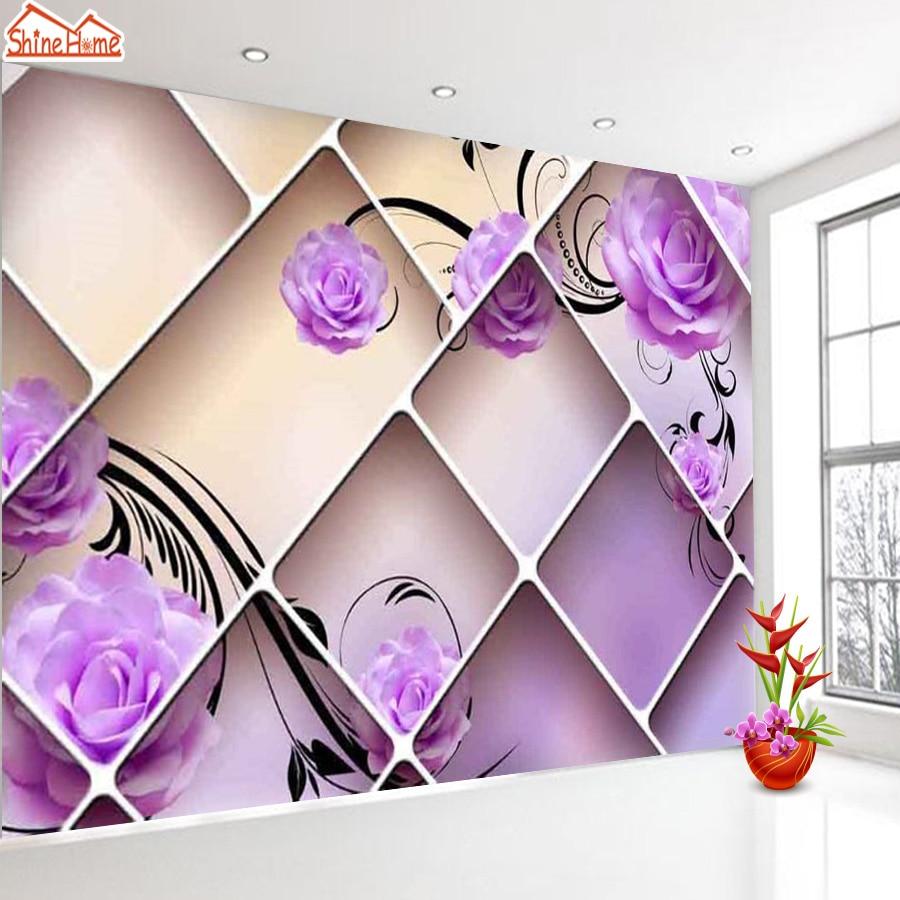Purple Rose Wallpaper Promotion Shop For Promotional Purple Rose