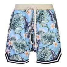 Шорты мужские летние модные цветочные мужские хлопковые шорты в повседневном стиле мешковатые винтажные шорты пляжные шорты длиной до колен 2xl-6xl 7xl 8xl хип-хоп