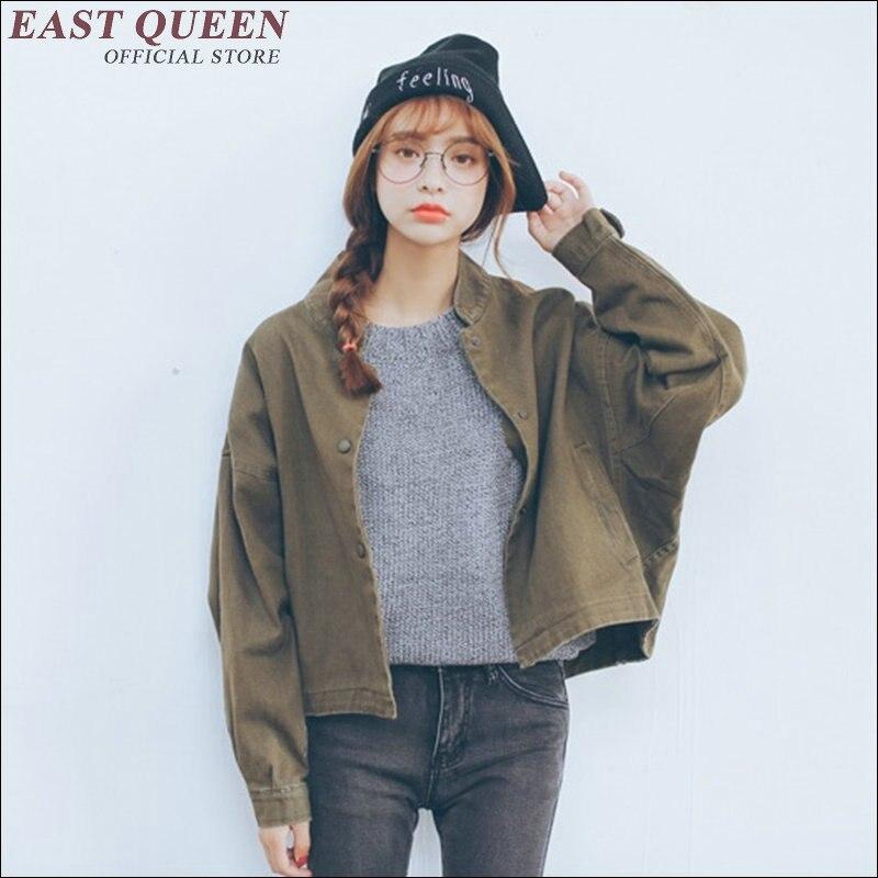 2017 Autumn Fashion Women Outwear Coats Winter parkas cool basic bomber jacket Women jacket coat AA1663X