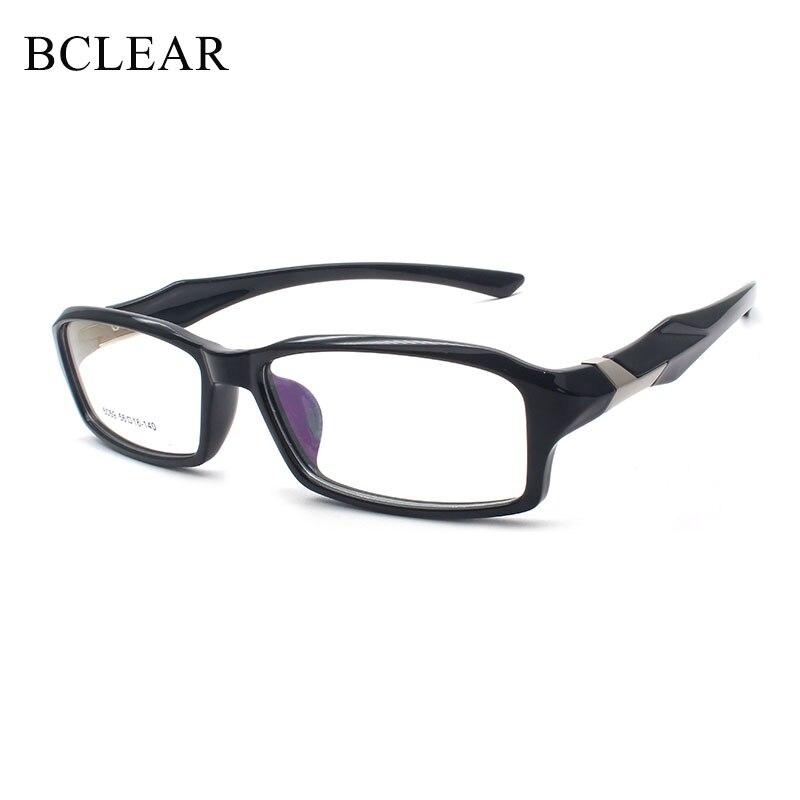 BCLEAR TR90 Sports Full Frame Eyewear Ultra Light Quality Myopia Eye Glasses Frames Mens Fashion Sport Glasses Frames Female
