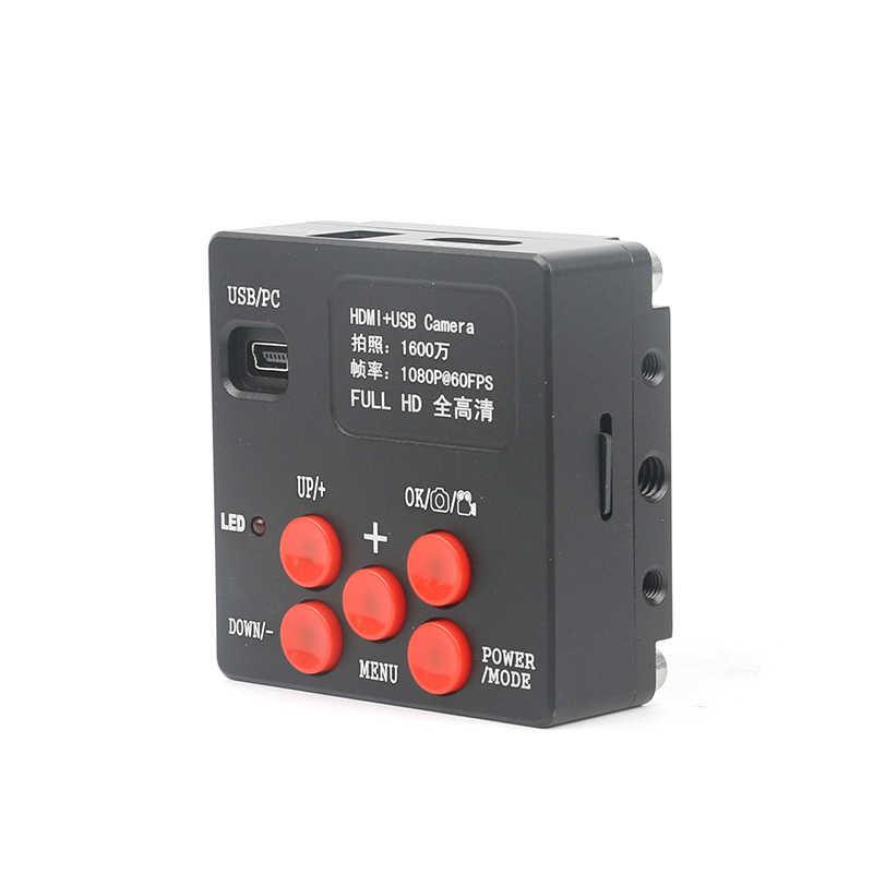 Бум стенд Simul-Focal 3.5X-90X Zoom набор микроскопов + 16MP камера HDMI + 144 светодиодный свет для ювелирных инспекций пайка ПХД