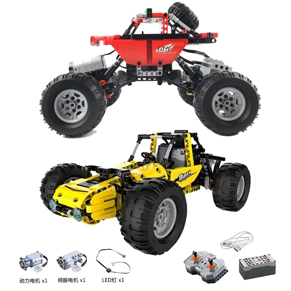 Nouveau RC voiture Fit Legoness Technic Bugatti Chiron & SUV tout-terrain sport télécommande bricolage blocs de construction jouets pour enfants cadeaux