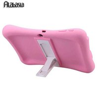 Silicon Kids Protective Baby Shock Proof Foam Stand With Audio Amplifier Case Cover For Samsung Tab
