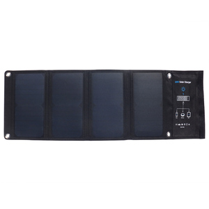 Image 3 - Xionel 28W Folding Solar Panel Charger Portable with Fast Charge 3 USB Port High Efficiency Sunpower Solar Panel for Cellphone