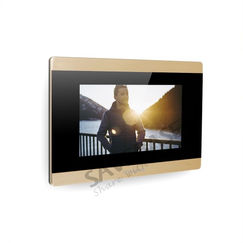 HOMSECUR BM715-G  Indoor Monitor Touch Screen Monitor with Call Transfer for HDK Series 1V1,1V2,1V3,1V4,2V1,2V2,2V3,2V4