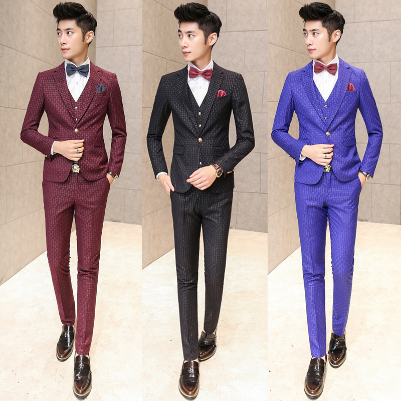 Popular Mens Plaid Suits-Buy Cheap Mens Plaid Suits lots from ...